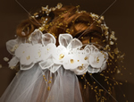 Brautfrisuren, Begleitung am Tag der Hochzeit, Ausleih von Brautschmuck