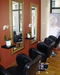 Atelier in der Carolinenstrasse, Kristin Haupt, Friseurmeisterin