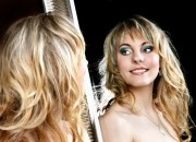 Sindy - Haarverdichtung: Dana Steinert, Make up: Kristin Haupt Friseurmeisterin Visagistin, Fotoshooting im April 2012