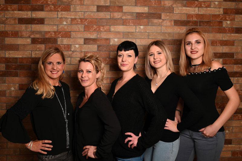 Team, Frseurinnen und Azubis