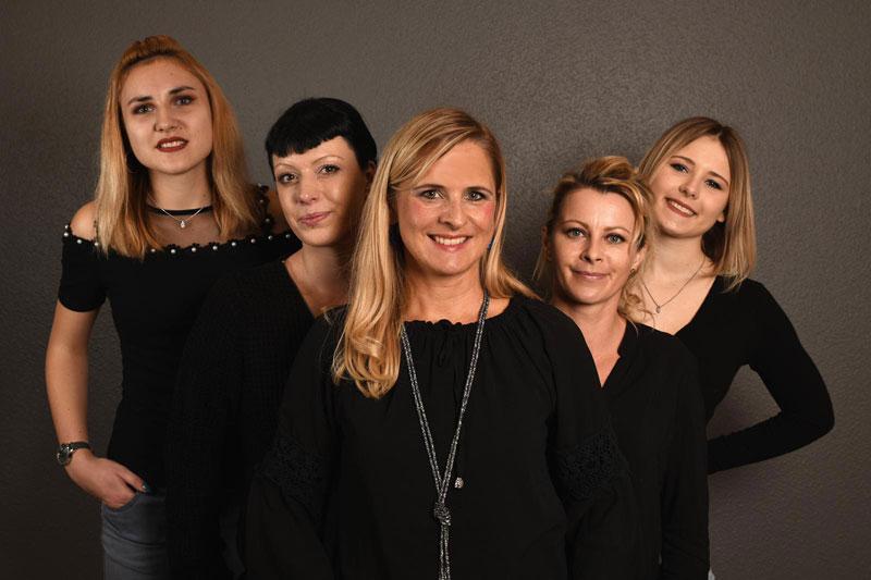 Team von Kristin Haupt, Friseurmeisterin